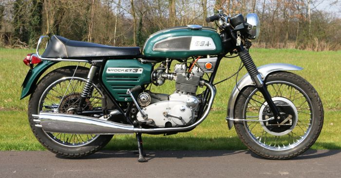 BSA - Rocket 3  - 750 cc - 1969