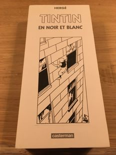 Tintin - Box: Tintin en noir et blanc - box number 25 - 9x hc - first edition (2012)