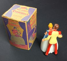 Disney, Walt - Statuette - Cinderella and Prince dancing (1950s)