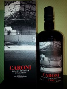 Caroni Trilogy 20 Years 1996-2016  Heavy Rum Velier