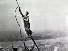 Lewis W. Hine (1874-1940) - 'Icarus' - Empire State Building - New York -  1930