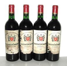 1970 Château La Cabanne, Pomerol – Lot of 4 bottles