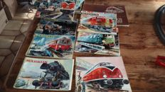 Märklin H0/00 - Lot with 20 catalogues from 1954 and up, see description and photos for condition