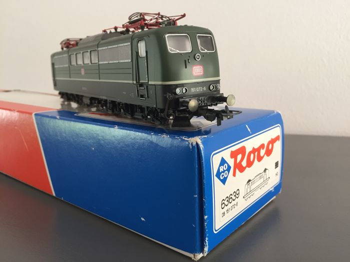 Roco H0 - 63639 - Electric locomotive Series BR151 of the DB