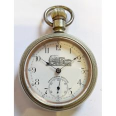 Trainmens Special Chicago Illinois pocket watch - USA  1890s