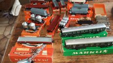 Märklin H0 - 4023/4504/and others - lot of 17 cars