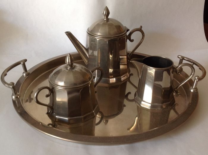 Old Coffee Set From The Late 1800s