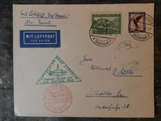 "Zeppelinpost - Ostseefahrt 1930 - Letter from Friedrichshafen to Tallin Carried on ""Graf Zeppelein"""