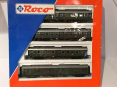 "Roco H0 44053 - Four-piece set ""Umbauwagens"" of the DB (1444)"