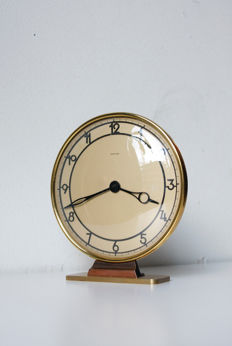 Table clock - Mauthe - around 1940 Art Deco