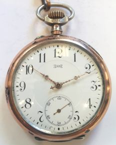 L.U.C. (Louis Ulysse Chopard) pocket watch - Switzerland ,1900s