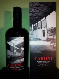 Caroni Trilogy 20 Years 1996-2016 Rum 70.28% Velier