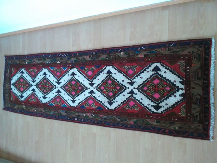 Persian carpet Hamadan runner-