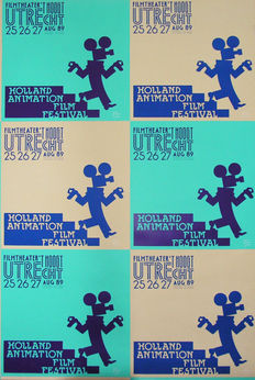Joost Swarte - Holland Animation Film Festival - 1989
