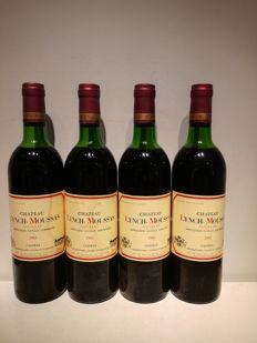 1983  Chateau Lynch Moussas, Pauillac 5eme Grand Cru Classé - 4 bottles