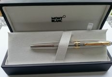 Montblanc Meisterstuck Solitaire 163, 925 sterling silver and gold trim rollerball pen