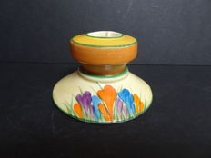 Clarice Cliff - Candle holder - Crocus pattern