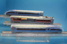 Märklin H0 - 37789 - 3-piece TRANSPARENT train set BR 403 'ICE-3' of the Deutsche Bahn AG 140 years Märklin