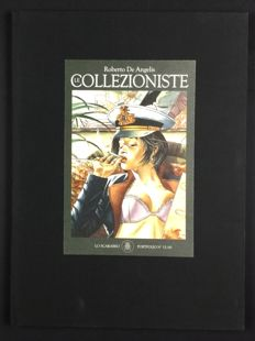 "De Angelis, Roberto - portfolio ""Le Collezioniste"", with 10x lithographs (2014)"