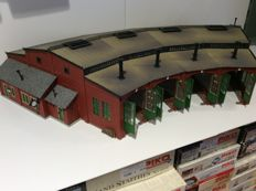 Vollmer H0 - 5754 - Loc shed for 4 locomotives (1445)
