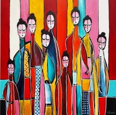 Suzanne Visser - Colourful people