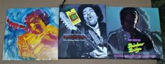 Jimi Hendrix: Two Great LPS': Rainbow Bridge Sountrack - The Jimi Hendrix Concerts Double Album & The Greatest Story of The Rock & Roll Years Hand Signed by Barry Wolman
