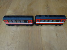 Trains 4,5V / 12V - 7745 - High-Speed City Express Passenger 2 x passenger wagons