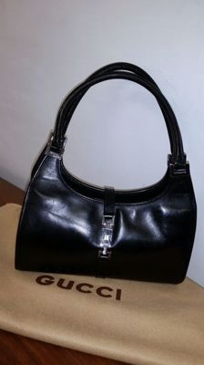 Gucci Bardot tote bag in genuine leather - Made in Italy