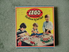 LEGO set 700/5 - First Dutch LEGO set still in original box - 1957 - rare!