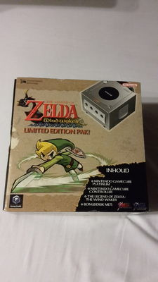 Gamecube Zelda the Windwaker (limited edition) pack