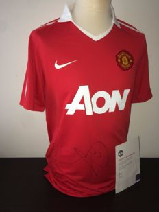 Rio Ferdinand / Manchester United - Original Hand Signed Shirt in Club Box + Official Club COA Man United.