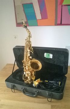 Stagg 77 - SSC - Soprano saxophone curved