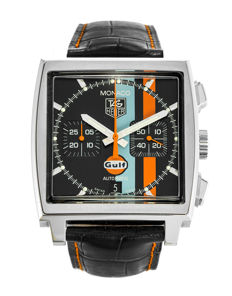 TAG Heuer — Monaco Gulf Limited Edition Like New Automatic Chronograph — CW211A — Hombre — 2000 - 2010