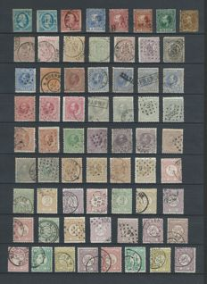 The Netherlands – Batch of classic material, starting from 1852.