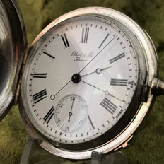 Perret & Fils, Brenets - Jumping seconds heren zakhorloge