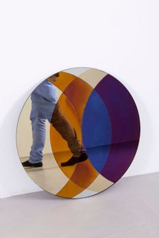 David Derksen & Lex Pott for Transnatural - 'Transience Mirror Circle' design mirror