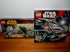 Starwars - 7255 + 7656 - General Grievous Chase + General Grievous Starfighter