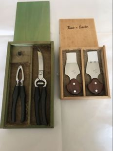 Class Italian forged knife set – Never used