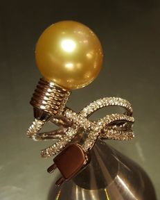 """Light Bulb"" Ring"