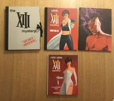 Vance, William / divers auteurs - Portfolio Khani - The XIII Mystery Secret Défense + The XIII Mystery T1/T2 + T2 + T10 + suppléments - 3x C - TT/TL (1999/2016)