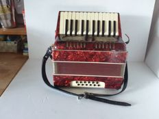 Old German accordion.