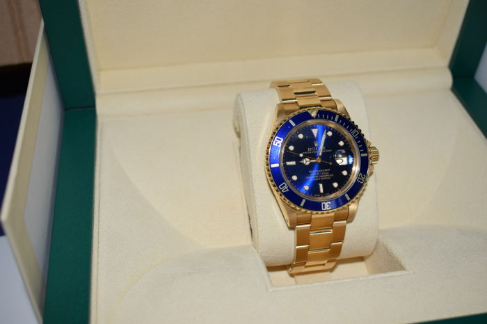Rolex — Submariner — 16618 — Men — 1980-1989