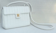 Chanel - Mademoiselle CC Logo Lambskin Shoulder Bag