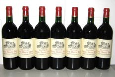 1985 Château Franc Grace Dieu, Grand Cru de Saint-Emilion – Lot of 7 bottles