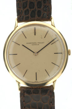 Audemars Piguet – yellow gold – vintage men's wristwatch