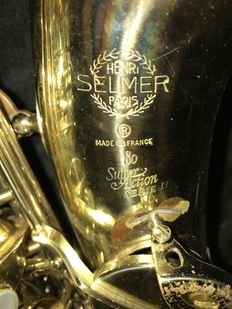Alto Saxophone Henri Selmer Paris Super Action 80 Series II