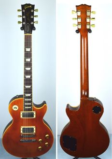 GIBSON LES PAUL Standard 1994 Amber Refinish 100th Anniversary Import US