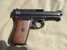 Rare automatic pistol  MAUSER 7.65 model 1914. The European certificate of neutralization to new standards is provided of course..