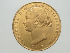 Australia – Sovereign 1868 Sydney Victoria – gold