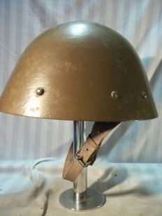 Czech helmet model 1934, complete with liner and date 1936